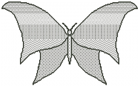 Blackwork Butterfly